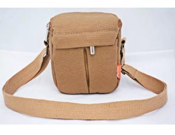 New Shockproof Camera Shoulder Strap Canvas Bag Case Cover forCanon EOS M10 M2 M3 Camera - intl - 2