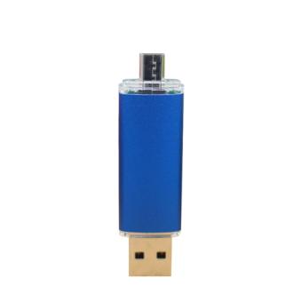 New USB Flash Drive 32GB Pendrive Smart Phone Pen Dive 32GB OTG USB Stick External Storage Tablet PC USB 2.0 (Blue) - Intl