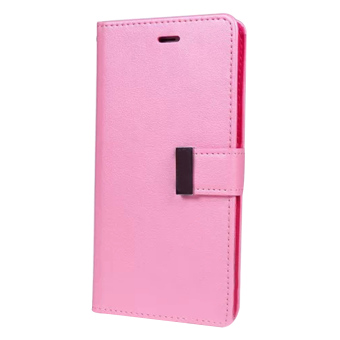 New Wallet Flip PU Leather Phone Case Cover For Apple iPhone 5 / 5s(Pink)