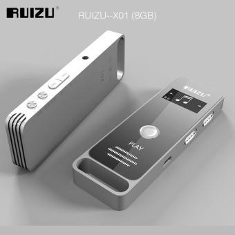 Newest Original RUIZU X01 Sport Mini Portable Lossless MP3 MusicPlayer Hidden Digital Audio Voice Recorder Pen 8GB Dictaphone -intl