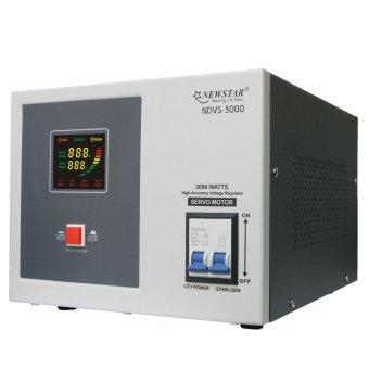 Newstar NDVS-3000 Servo 3000W AVR (Grey) - 2