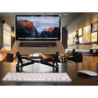 NexStand K2 Laptop Stand - Height Adjustable, Portable, Lightweight, 360 Ventilation - 2