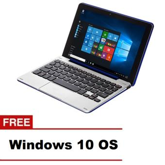 "Nextbook Flexx9 8.9"" Intel Atom Quad-Core 1GB Blue Windows 10 with Pogo Keyboard"