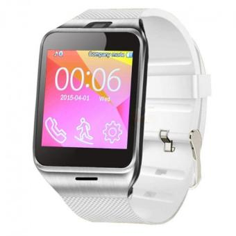 NFC Aplus Smart Bluetooth Watch with Camera Bluetooth WristWatch SIM Card Smartwatch Color White