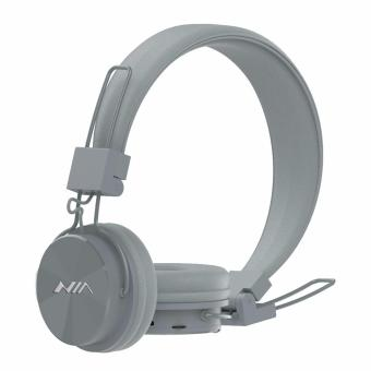 Nia X3 Superb Sound Wireless Calls and Music, TF card play, FMRadio,Audio input 4 in 1 Head Phones - 2