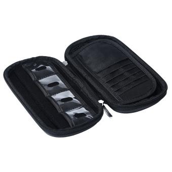 niceEshop Big Capacity USB Flash Drive Bag Digital Gadget Case (Black) - 4