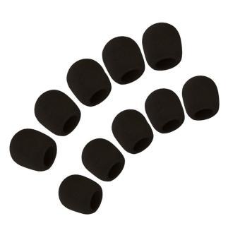 niceEshop Black 10 Pack Colors Handheld Stage Microphone WindscreenFoam Mic Cover Karaoke DJ - intl - 2