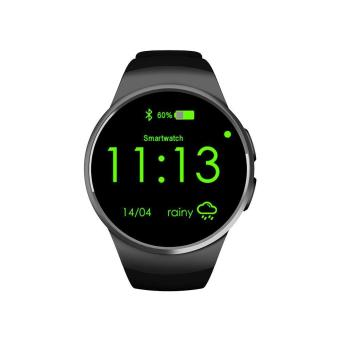 niceEshop KW18 All-in-1 Bluetooth Smart Watch Phones,Sim Wrist Smartwatches For IOS/Android Smartphones,Support SIM TF Card Heart Rate Monitor - intl