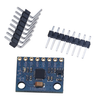 niceEshop MPU-6050 Module 3 Axis Gyroscope + Accelerometer(Blue) Price Philippines