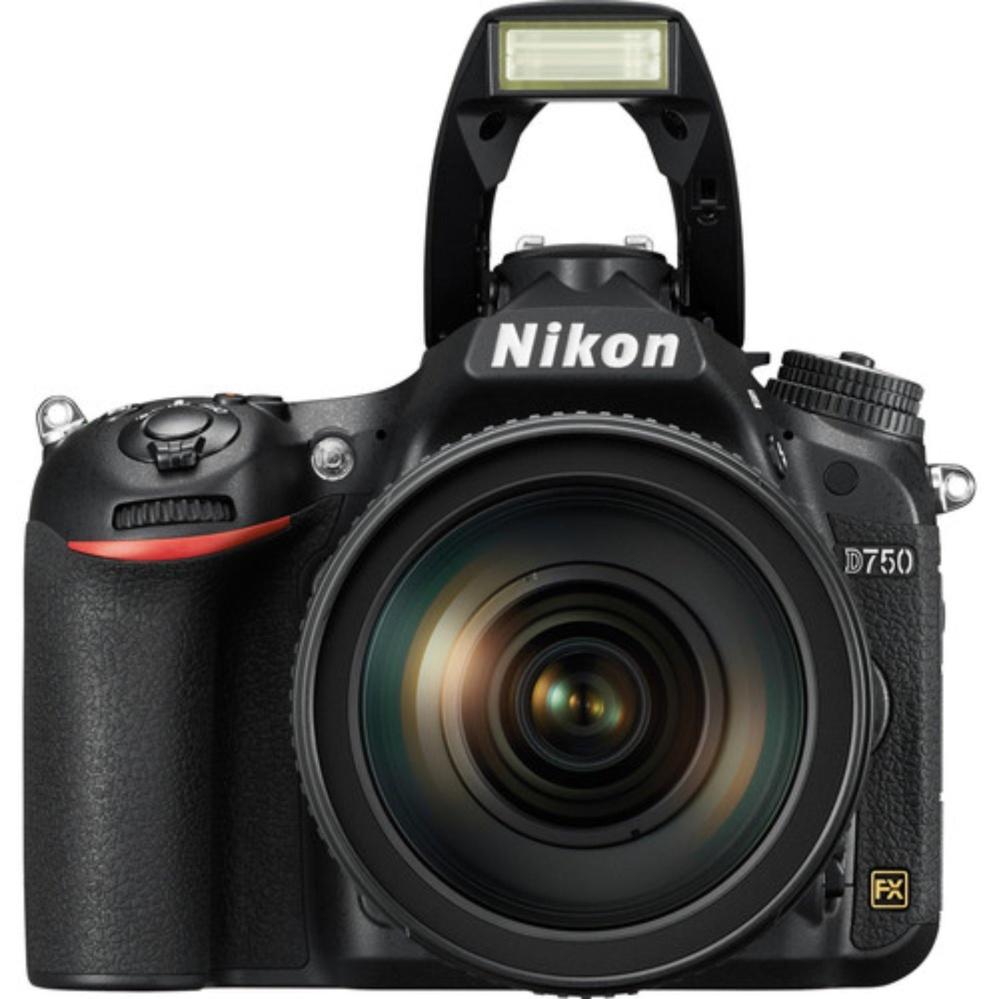 Nikon D750 SLR Camera + 24-120mm AF-S VR Lens - 64GB SD Bundle -intl