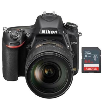 Shop Online Nikon D750 SLR Camera + 24-120mm AF-S VR Lens - Sandisk 64GB SDBundle - intl in Philippines