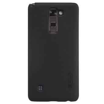 NILLKIN Super Frosted Shield hard back cover for LG Stylus 2 K520with Screen Protector (Black) - intl - 2