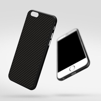 Nillkin Synthetic fiber Back Cover Case For Apple iPhone 6 / 6s 4.7inch Military quality With Retail package (Black) - intl - 2