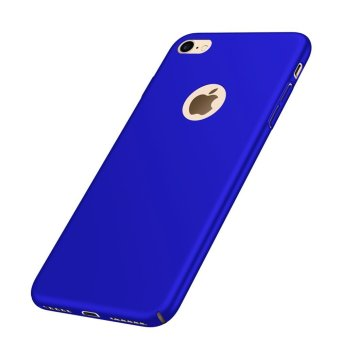 NingMao Smoothly Shield Skin Shockproof Ultra Thin Slim Full Body Protective Scratch Resistant Case for iPhone 6 Plus / 6s Plus (Silky Blue) - intl Price Philippines