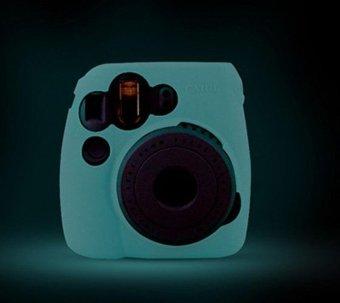 Noctilucent Camera Case Skin Cover For FUJIFILM Instax Mini8 Mini8s Blue - intl - 2