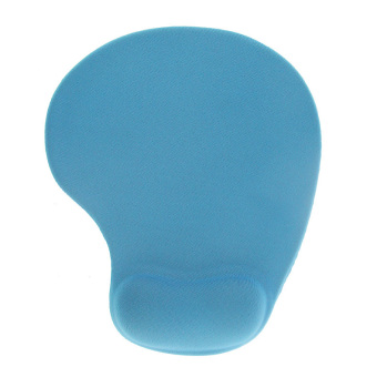 Non-slip Backing Mouse Pad Mat Comfort Gel Wrist Support for PC Laptop blue