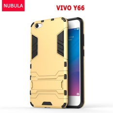 ... Dual Layer Hybrid Armor Protective Cover with Kickstand Case. Source · NUBULA 360 degrees Ultra-thin Hard Back Cover For VIVO Y66 / V5Lite Detachable 2