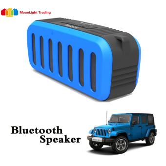 Nx-2014 Jeep Portable Bluetooth Speaker(BLUE) with Mic/ Radio /USB/Aux/ TF Slot Price Philippines