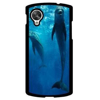 Ocean Seas Pattern Phone Case for LG Nexus 5 (Blue)