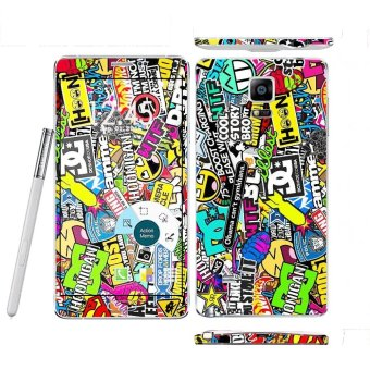 Oddstickers Doodle Pattern 3 Phone Skin Cover for Samsung GalaxyNote 4