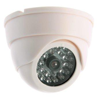 OEM Dummy Dome Home Kamera CCTV - Putih - 3