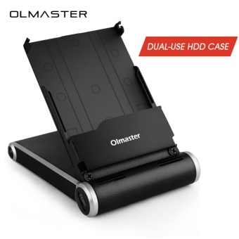Olmaster Multifunction Dual-use Sata USB 3.0 HDD Case 2.5 Inch SSD HDD Enclosure for