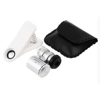 One Piece Universal Clip Fish Eye Lenses Wide Angle Macro Mobile Phone Lens - intl - intl - 3