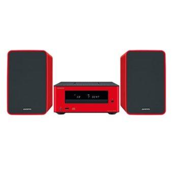 Onkyo CS-255 CD Hi-Fi Mini System (Red)