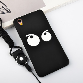 Oppoa37/a37m cute silicone full edging protective case phone case