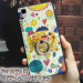 Oppor7s/R7/r7plus cartoon silicone embossed soft phone case