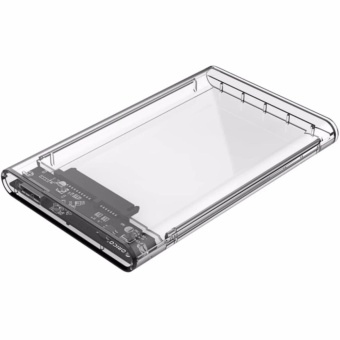 Orico 2139U3 2.5 Inch Transparent SATA To USB 3.0 Hard DriveEnclosure HDD Case (Clear)