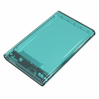Orico 2139U3 2.5 Inch Transparent SATA To USB 3.0 Hard DriveEnclosure HDD Case (Green)