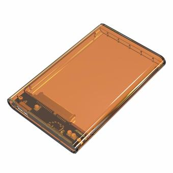 Orico 2139U3 2.5 Inch Transparent SATA To USB 3.0 Hard DriveEnclosure HDD Case (Orange)