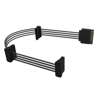 ORICO DC15P-PX3 SATA Standard 15 Pin 3 In 1 DIY Chassis Power Cord HDD Cables For Multiple Hard Drives - intl - 3