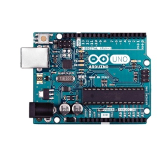 Original Arduino UNO with Free Arduino Acrylic Base and USB Cable