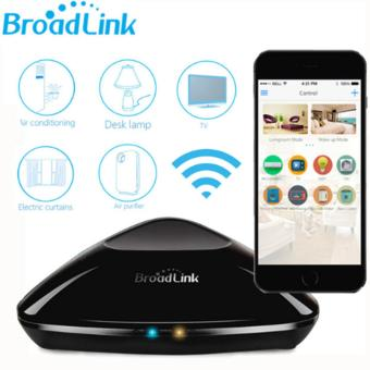 Original Broadlink RM2 RM PRO Universal Intelligent Remote Controller Smart Home Automation WIFI+ IR+ RF Switch Via IOS Android EU Plug - intl - 2