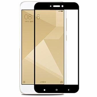 Original Full (Flat) Cover Tempered Glass For Xiaomi Redmi 4X(Black)