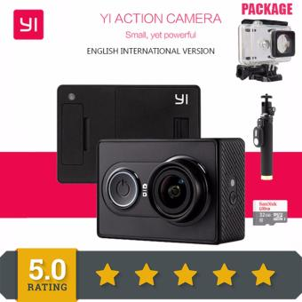 Original International Version XiaoYi 16MP Action Camera 1080PAmbarella A7 Bluetooth Xiaomi Yi Waterproof 2K WIFI Sport Cameralike Gopro SJCAM Price Philippines