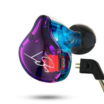 Original KZ ZST Colour Balanced Armature+Dynamic Hybrid Dual Driver Earphones HIFI Earbuds Bass Headset In-ear Earphones Without Microphone - intl - 3