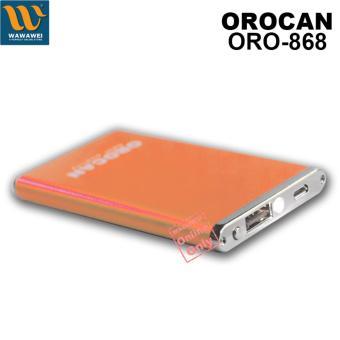 Orocan Smart Power Bank With Flashlight 20000mAh (Gold) - 2
