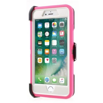 OTTERBOX for iPhone 7 Plus Defender Rugged Protection Case Cover -White / Rose - intl