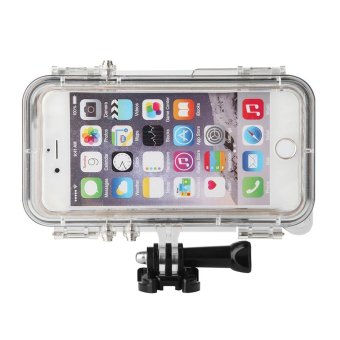 Outdoor Sports Waterproof Case with Wide Angle Lens for iPhoneSE/5s/5 - Gold - intl - 2