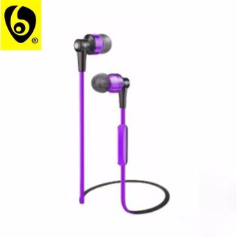 OVLENG ETT? S8 Shocking 2.0 Stereo Super Bass Bluetooth Earphone Music Treble Clear Hi-Fi Wireless Headphone with Microphone (Violet)