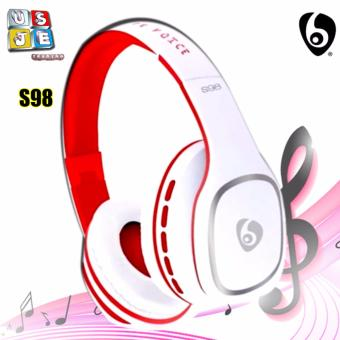 OVLENG ETT? S98 High Quality Wireless Bluetooth Headphone (WHITE)