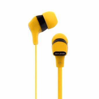 Ovleng iP160 HD Music Mobile Earphones (Yellow) - 2