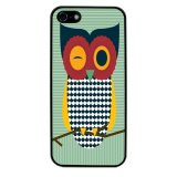Owl Cute Pattern Phone Case for iPhone 5C (Black) - thumbnail 1