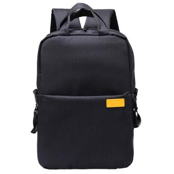 Oxford Cloth Shockproof Camera Storage Travel Carrying ShoulderBackpack Photography Video Bag Universal for DSLR Camera NikonCanon Sony Pentax Black - intl