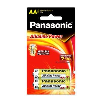 Panasonic Alkaline Power AA 24 packs + FREE AA 2 packs (Gold) - 4