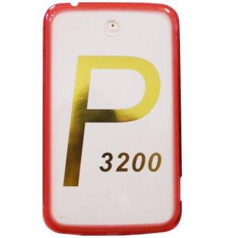 PC/TPU Senior Back Case For Galaxy Tab 3 P3200 (Acrylic Red)