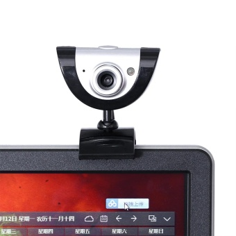PC Video Record HD Night Vision Webcam Web Camera with MIC forComputer Laptop - intl